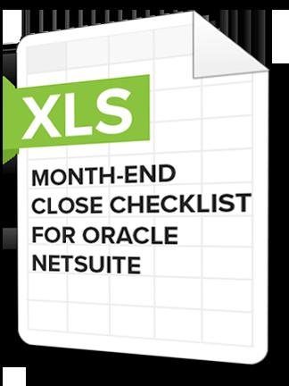 Month-end Checklist Netsuite