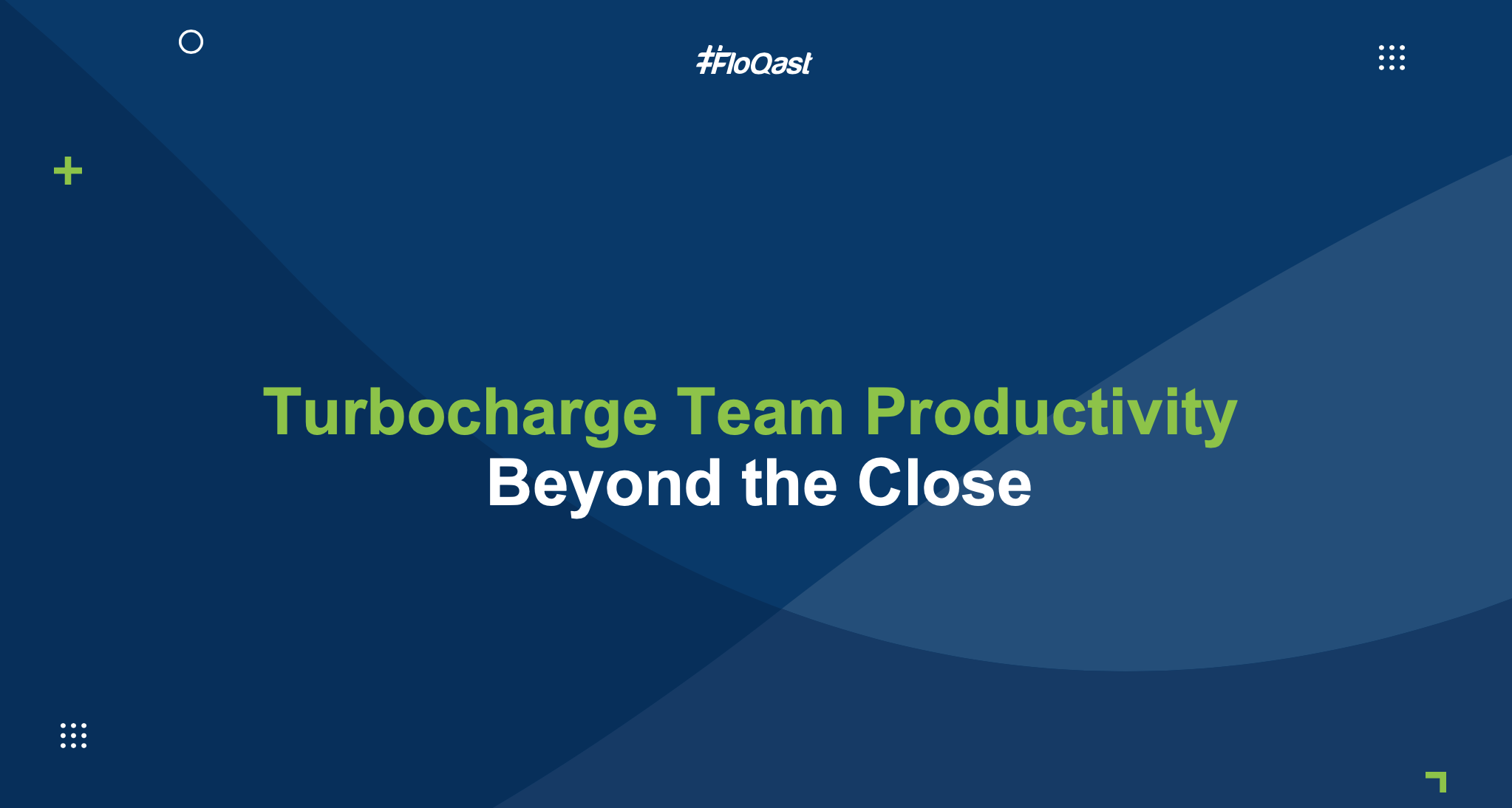 Turbocharge Team Productivity