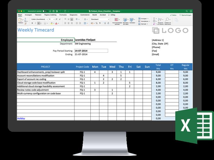 Excel-Reconciliation